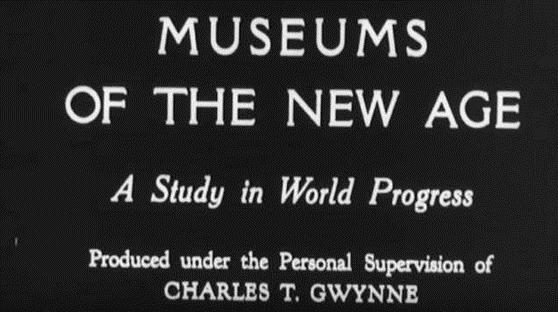 Museums of the New Age title frame