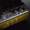 Colour photograph of a Revox A77 tape recorder modified for continuously variable playback