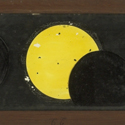 A Copper Plate Slider by Carpenter and Westley showing astronomical Diagrams Eclipse of the Sun