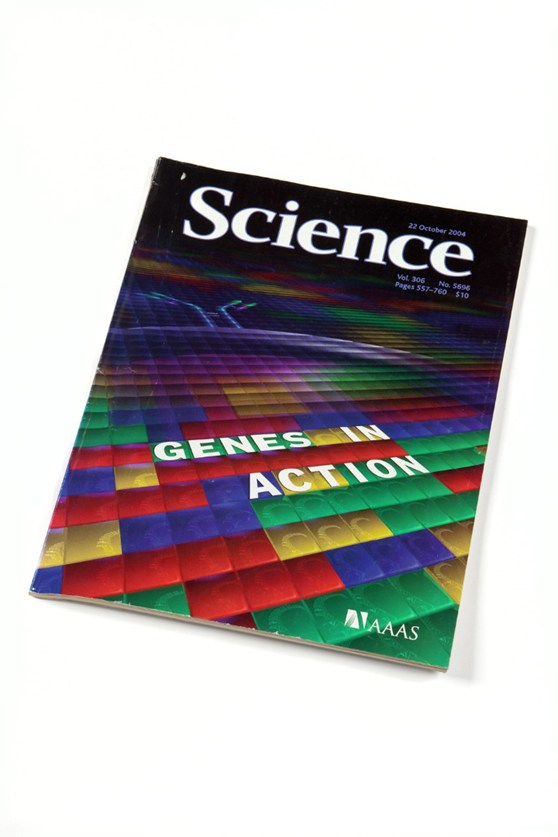 Front cover of Science research journal