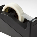 Colour photograph of a sticky tape dispenser