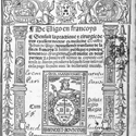 Page from a book by Benoist Bounyn from 1525